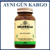Solgar Chlorella 520 Mg 100 Vegetable Kapsül...