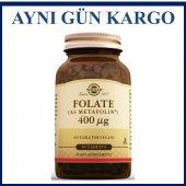 Solgar Folate (As Metafolin) 400 Mcg 50 Tablets