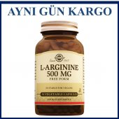 Solgar L Arginine 500 Mg Free Form 50 Vegetable...