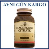 Solgar Magnesium (Magnezyum) Citrate 200 Mg 60...