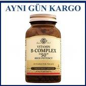 Solgar Vitamin B Complex 50 100 Kapsül Skt 04...