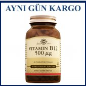 Solgar Vitamin B12 500 Mcg 50 Kapsül Skt 10 2022