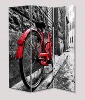 Dekoyes Bisiklet 3 Kanat Tekerlekli Kanvas...