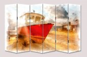 Dekoyes Balıkçı Teknesi 6 Kanat Tekerlekli...