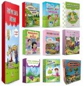 2. Ve 3. Sınıflar İçin Hikaye Seti 10 Kutu 90 Kitap