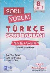 Bulut Eğitim 8. Sınıf Soru Yorum Türkçe Soru Bankası Yeni