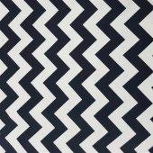 Zeren Home Zigzag Desen Dertsiz Mutfak Masa Örtüsü Siyah-Beyaz 160cm x 200cm