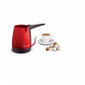 Kiwi Kcm 7510 Türk Kahve Makinesi Elektrikli Cezve Kırmızı