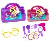 Oyuncak Çocuk Barbie Güzellik Seti Çantası...