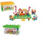 Oyuncak Akıllı Çocuk Kale Lego Seti 100 Parça...