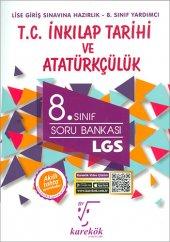 Karekök 8.Sınıf LGS T.C. İnkilap Tarihi ve Atatürkçülük Soru Bank