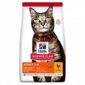 Hills Adult Optimal Care Tavuklu Yetişkin Kedi...
