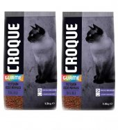Croque Gourmet Balıklı Yetişkin Kedi Maması 1,5 Kg X 2 Adet