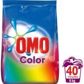 Omo Toz Çamaşır Deterjanı Color 40 Yıkama 6 Kg...