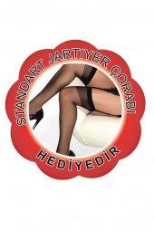 Merry See Siyah Jartiyer Takımı+ ÇORAP HEDİYELİ-5