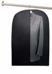 Fermuarlı Takım Elbise Kılıfı Koruyucu Tozlanmaz Erkek Takım Elbi