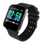 A6 Smart Watch Akıllı Saat Su Geçirmez Nabız...