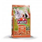 Exovit Kemirgen Yemi Tavşan Ve Hamster Yemi 500 Gr