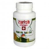 Zurich Multivitamin Kedi Tableti 100 Tablet