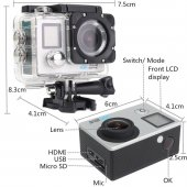 Kingboss Sl D215 4k Ultra Hd Aksiyon Kamerası