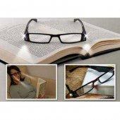 ışıklı Kitap Okuma Gözlüğü