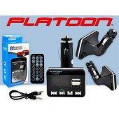 Platoon Pl 9244 Araç Oto Bluetooth Fm Transmitter Çakmak Şarj