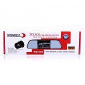 Wondex Wd 505 Dikiz Aynası Monitörü + Geri Vites Kamerası 5 İnç Ekranlı Ayna