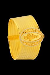 Altın Kaplama Nilüfer Sultan 12 Sıra Rize Kelepçe