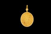 Altın Kaplama Görkemli Kolye
