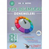 Limit Yayınları 8. Sınıf Fen Bilimleri Kronometre 12li Denemeler