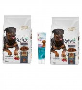 Reflex Kuzu Etli Yetişkin Köpek Maması 6 Kg + Spectrum Köpek Multivitamin Hediyeli
