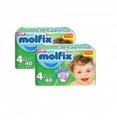 Molfix Jumbo Maxi 40 Adet *2li Set