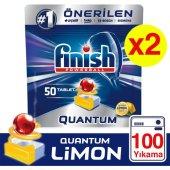 Finish Quantum 100 Tablet Bulaşık Makinesi...