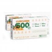 2 Adet Curcumin 500 10 Şase X 6gr (Hologramlı)...
