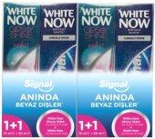 Signal White Glossy Shine Diş Macunu 75+50 Ml...