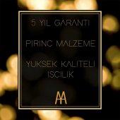 Maya Ottoman PVD Gold Setüstü Sıvı Sabunluk C Cam 100 Pirinç-4