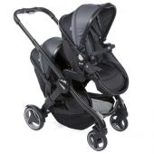 Chicco Fully İkiz Bebek Arabası Siyah