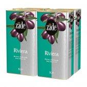 Zade Riviera Zeytinyağı 5 Litre Teneke Koli 4lü Set 4x5 Litre