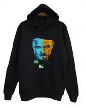 Breaking Bad Baskılı Kapüşonlu Sweatshirt