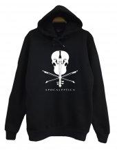 Apocalyptica Baskılı Kapüşonlu Sweatshirt