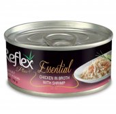 Reflex Plus Essentıal Kedi Tavuk&karidesli 70 Gr 6 Adet