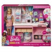 Gfp59 Barbienin Pasta Dükkanı Oyun Seti Barbie...