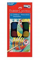 Faber Castell Suluboya 12 Renk Büyük Boy...