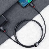 Orjinal Baseus 5.0A LG G7+ ThinQ Type C Hızlı Şarj Kablosu-4