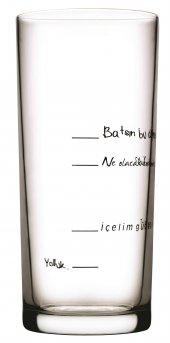 Paşabahçe İçelim Güzelleşelim Rakı Bardağı 6 Adet
