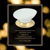 Maya Fantasia PVD Gold Setüstü Sabunluk Porselen 100 Pirinç-2