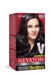 Nevaton Kalıcı Krem Saç Boyası 3.0 Koyu Kahve