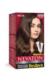 Nevaton Kalıcı Krem Saç Boyası 6.0 Koyu Kumral