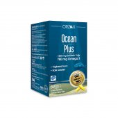 Orzax Ocean Plus Omega 3 1200 Mg 50 Kapsül Balık Yağı Skt 04 2023