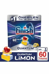 Quantum 60 Tablet Bulaşık Makinesi Deterjanı Limon